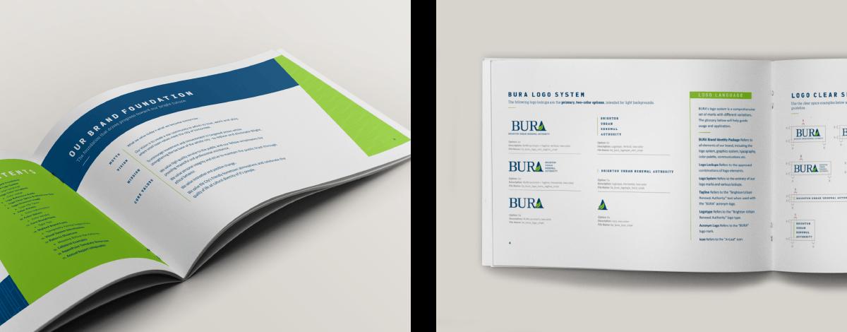 Image of BURA Ozzmata branding, brand identity and brand guidelines design