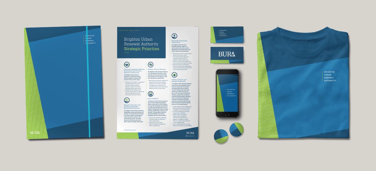Image of BURA Ozzmata branding, brand identity and marketing collateral design