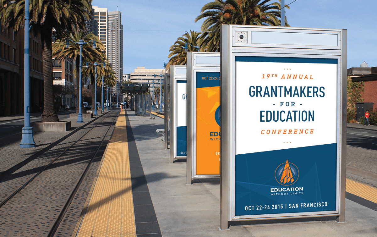 Image of Education Without Limits marketing and publication with branding and brand identity design by Ozzmata