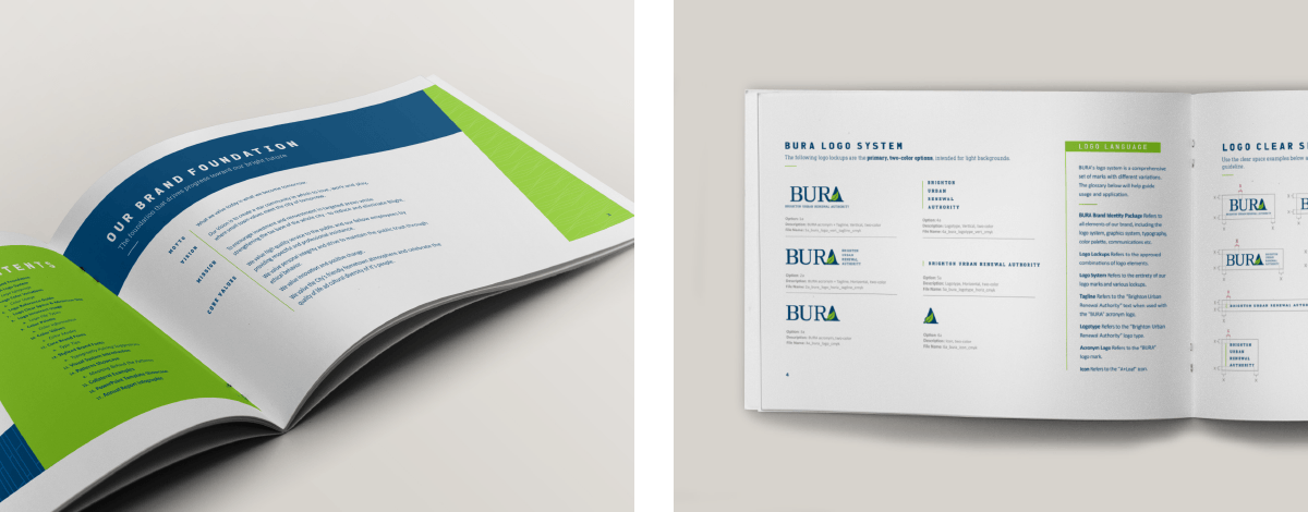 Image of BURA Ozzmata branding, brand identity and brand guidelines design
