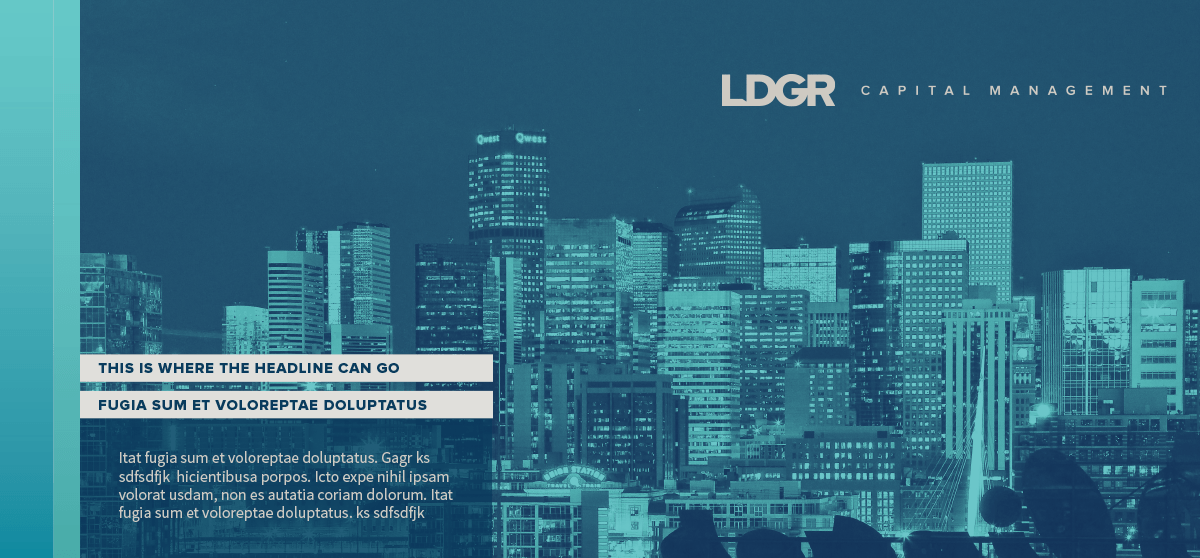 LDGR Capital Management PowerPoint designed by Ozzmata