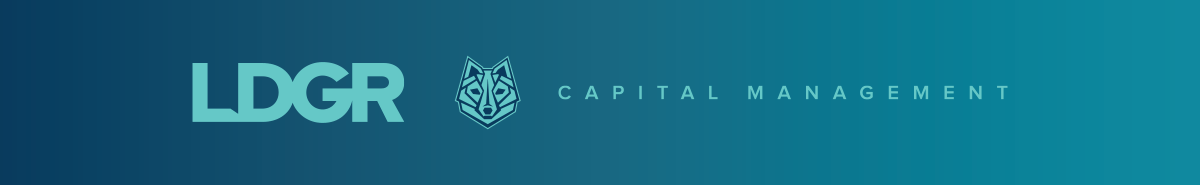 LDGR Capital Management logo designed by Ozzmata