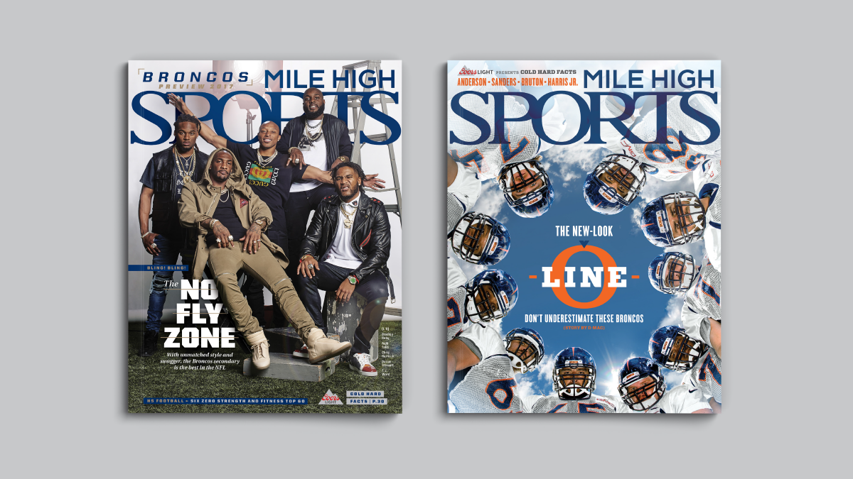 Mile High Sports Magazine | Denver Broncos | Design by Ozzmata.com