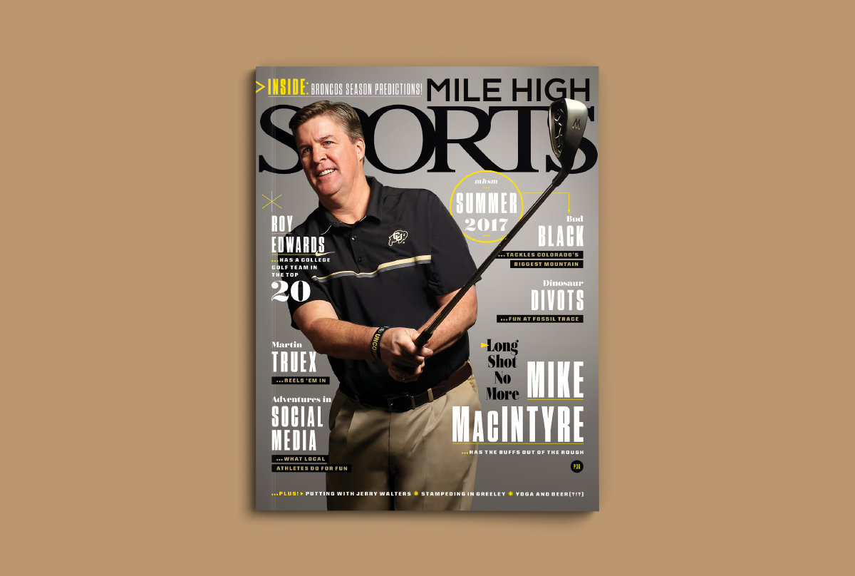 Mile High Sports Magazine | Golf | Design by Ozzmata.com