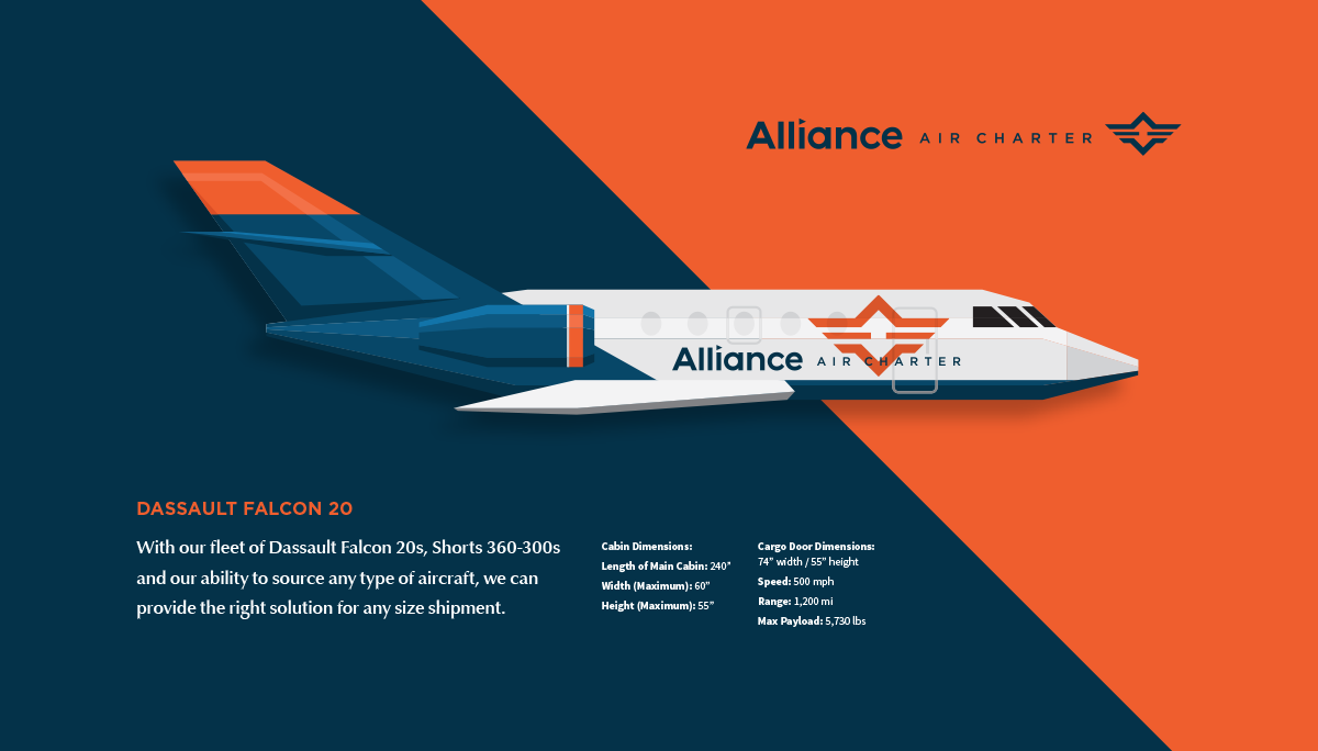 Alliance Air Charter | Airplane Illustration | Design by Ozzmata.com
