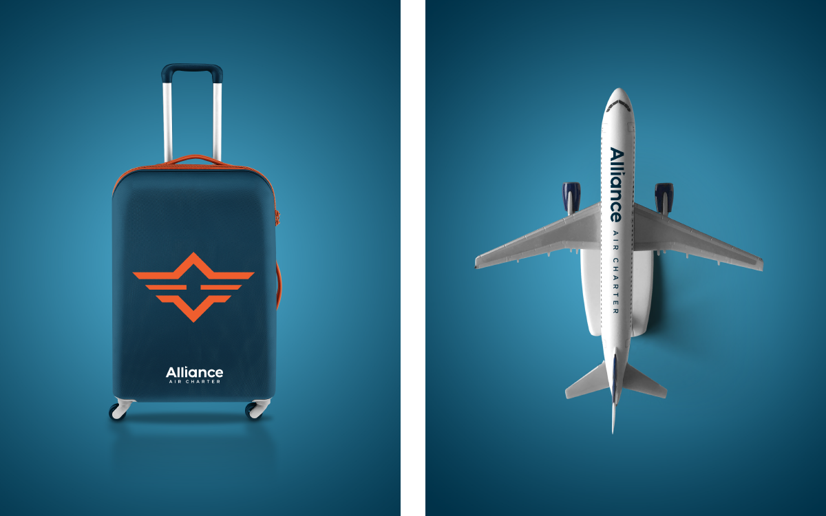 Alliance Air Charter | Luggage and Toy | Design by Ozzmata.com