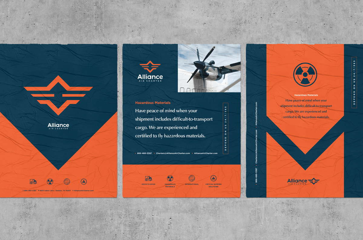 Alliance Air Charter | Posters | Design by Ozzmata.com